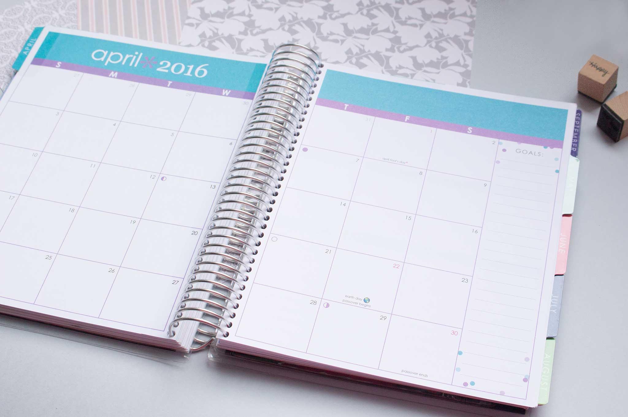 L'agenda planner d'Erin Condren
