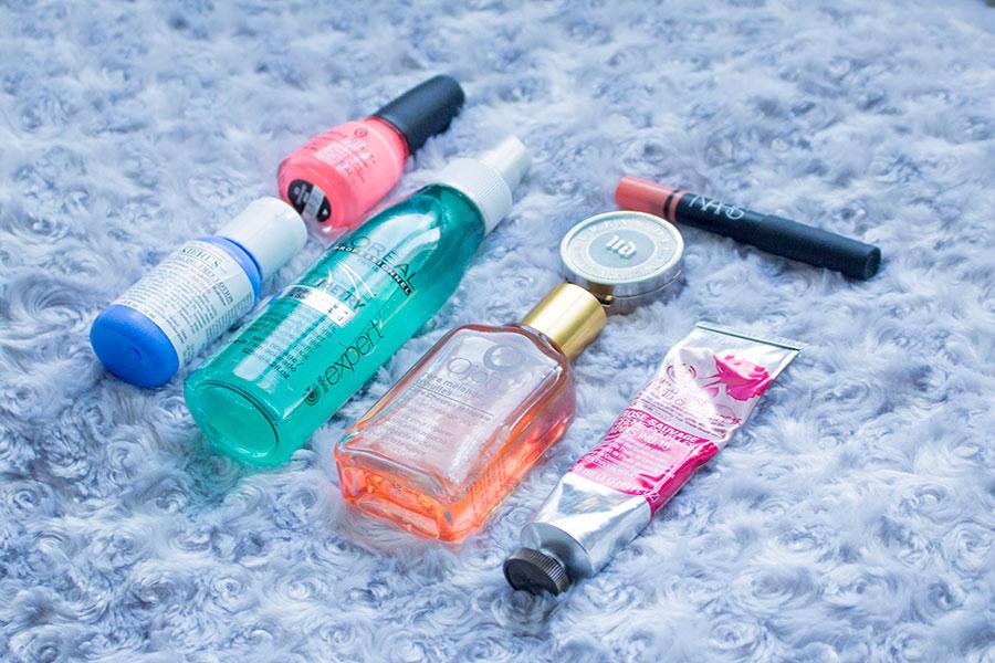 Mes produits beauté favoris du mois : Kiehl's, Urban Decay, The Body Shop, Ojon, L'oréal Professionnel, China Glaze et NARS...