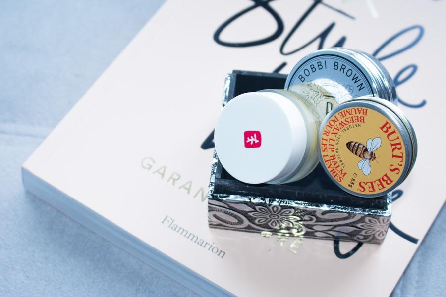 Mon test des baumes à lèvres Bobbi Brown, Erborian et Burt's Bees...