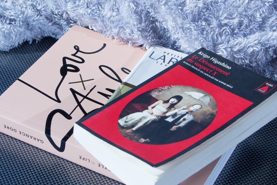 Mon avis sur mes dernières lectures : Le Dévouement du Suspect X de Keigo Higashino, Love X Style X Life de Garance Doré et Le Horla de Guy de Maupassant...