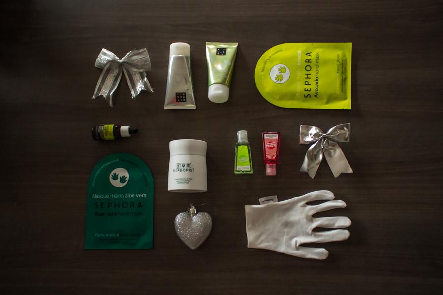 Mon programme pour des jolies mains en Hiver avec Rituals, The Body Shop, Séphora, Marionnaud, Herborist et Merci Handy.